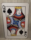 Large Playing Card Cut Out