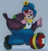 Circus Centre Piece - Clown 2