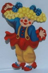 Circus Centre Piece - Clown 3