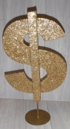 Dollar Sign Centre Piece