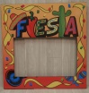 Fiesta Frame Cut Out XO1