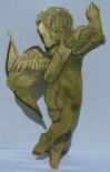 Gold Cherub Cut Out P3