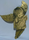 Gold Cherub Cut Out P4