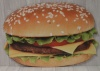 Cheese Burger Sign Cut Out XO1