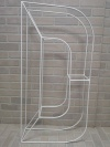 Metal Marquee letter - D