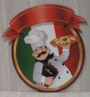 Italian Food Sign Cut Out XO1