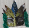 Mask Cut Out XO3 - Blue/Green