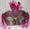 Mask Cut Out XO6 - Purple/Gold