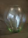 Rounded Glass Vase