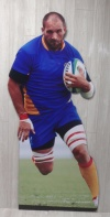 Rugby Cut Out X04