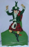 Scottish Dancer Cut Out P1