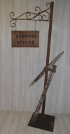Sheriff's Office Sign Post