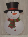 Snowman Cut Out XO1