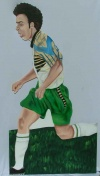 Soccer cut out 10
