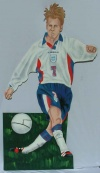 Soccer cut out 11
