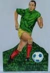 Soccer cut out 3