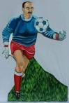 Soccer cut out 4
