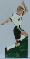 Soccer cut out 5