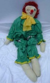 Stuffed Clown 3 - Green