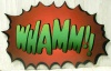 Whamm Sign Cut Out