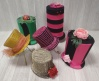 Assorted Mad Hatter Hat Centre Pieces