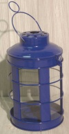 Blue Nautical Lantern
