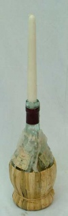 Chianti Bottle Candle Holder