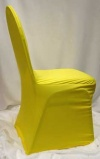 Chair Cover Yellow
