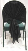 Chair Top Black
