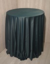 Plain Hunters Green Table Cloth