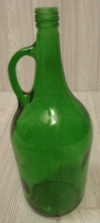 Large Green Bottle
