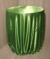 Lime Satin Round Table Cloths