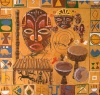 African Mask Backdrop 1