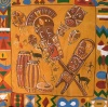 African Mask Backdrop 2