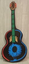 Mexican Guitar Cut Out