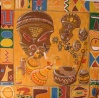 African Mask Backdrop 4
