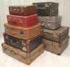 Assorted Old Suitcases